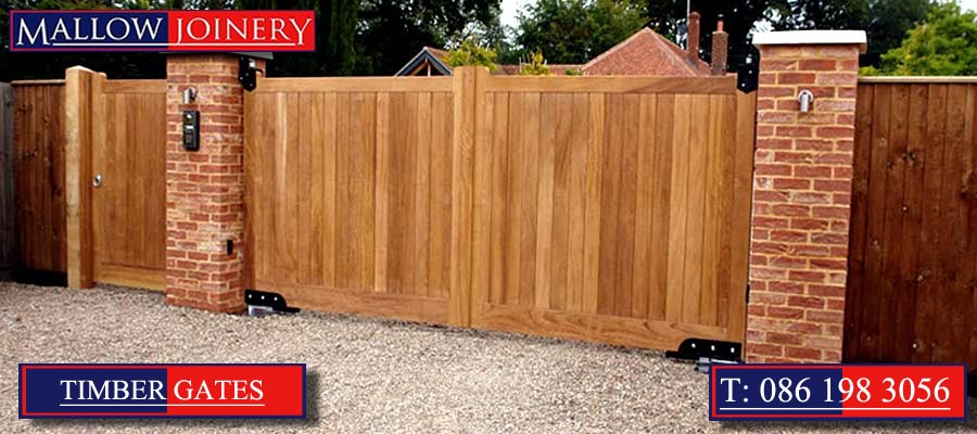 Timber Entrance Gates