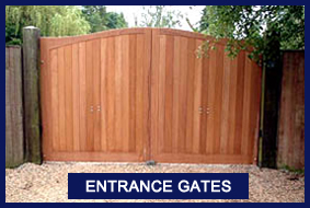 Gates Cork, Entrance Gates, Timber Gates