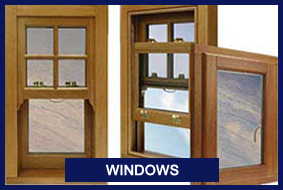 Windows Cork, Timber Windows
